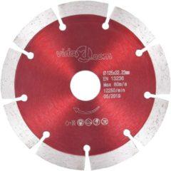 VidaXL Diamantzaagbladen 2 st 125 mm staal
