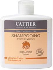 Cattier Shampoo dagelijks yoghurt 250 Milliliter