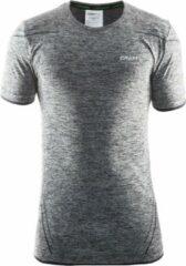Zwarte Craft Active Comfort Roundneck Ss Sportshirt Heren - Black
