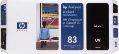 WeCare HP 83 - Inktcartridge / Zwart + Reiniger (C4960A)