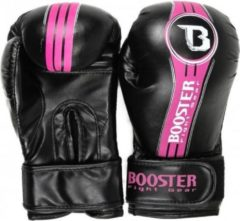 Booster fight gear Booster Junior (kick)bokshandschoenen BT Future Zwart/Roze 6oz