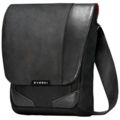 "Zwarte Everki Venue Premium Cross Body RFID 10.5"" Black"