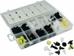 JBM Tools | Assortimentsdoos set van plastic clips voor Honda |