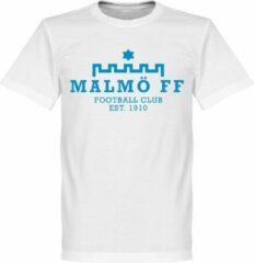 Witte Retake Malmö FF Logo T-Shirt - XS