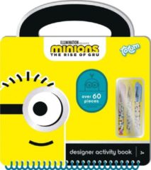 Totum activiteitenboek Designer Minions junior 30-delig