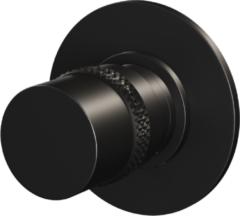 Stopkraan Brauer Black Edition Inbouw Thermostatisch Rond Mat Zwart 1 Greeps