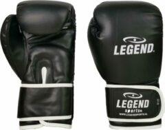 Legend Sports bokshandschoenen PowerFit unisex zwart/wit maat 14oz