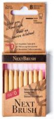 Nextbrush Bamboe interdentale ragers ISO 0 Inhoud: 8 stuks