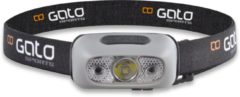 Gato Sports Gato Hoofdlamp Head Torch USB zwart grijs hoofdlamp unisex hardloop verlichting
