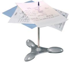 Zilveren Maped Office Liaspen - metalen sokkel en pen