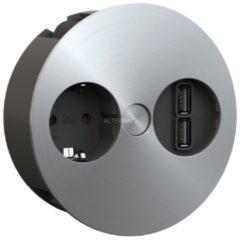 Bachmann TWIST 931.031, 1x Schutzkontakt-Steckdose, 2x USB