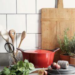 Cuisinox gietijzeren braadpan rood Ø 20cm