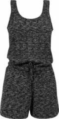 Grijze Urban classics Melange Hot Suit Casual - Urban - Couchwear - Beachwear - Streetwear - Modern - Sporty Dames Jumpsuit Maat L