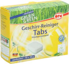 Universeel Spülmaschinen-Reiniger Tabs ökologisch 720g für Geschirrspüler 10008061