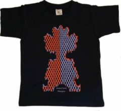 Marineblauwe B & C Anha'Lore Designs - Clown - Kinder t-shirt - Navy - 7/8j (122-128)