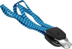 Benson Bike Parts Blauwe Snelbinder Set voor op de Fiets – Compleet – 60x3x1cm – Blauw| Elastieken Binders Set voor de Bagagedrager | Fietsonderdelen Klein