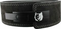The Wolfpack - Lifting Belt - Gewichtshefriem - Powerlift Riem - Fitness Riem - Krachttraining - Zwart - Leer - Maat L