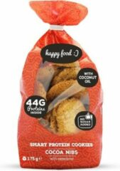 Body & Fit Food Body & Fit Smart Protein Cookies - Suikerarm - 1 pak - Cacao nibs