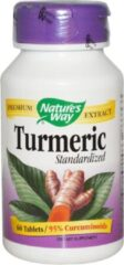 Natures way Kurkuma gestandaardiseerd (60 tabletten) - Nature's Way