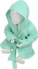ARTG Babiezz® Baby Badjas met Capuchon Mint Groen - Maat 68-74