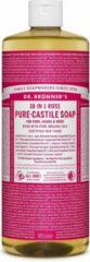Dr Bronners Dr. Bronner Liquid Soap Rose - 946 ml - Douchegel