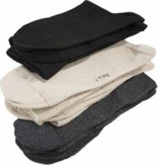 Merkloos / Sans marque Valgus sokken zwart, 2 paar- maat 39- 42