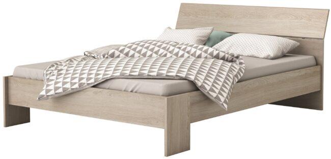 Afbeelding van Young Furniture Tweepersoonsbed Pricy 140x190/200cm - Shannon eiken