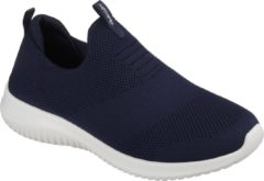 Marineblauwe Skechers Ultra Flex First Take Dames Instappers - Navy - Maat 39