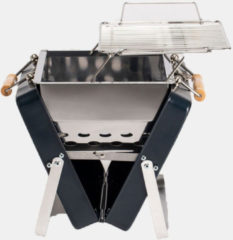 Donkerblauwe Kenluck - Buddy BBQ Grill - Compacte Barbecue - Blauw