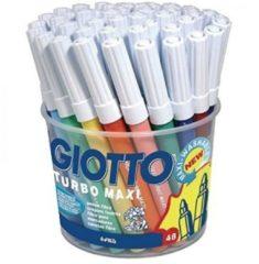 Pennarelli Giotto Turbo Maxi Barattolo 48 pezzi