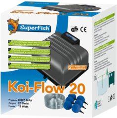 Superfish Koi-Flow 20 + luchtbollen en slang