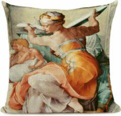 Harani Kussenhoes Italiaanse Renaissance Michelangelo 5