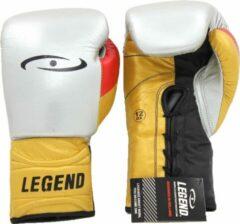 Legend Sports bokshandschoenen Limited Legendary zilver/goud/zwart mt 10oz