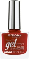 Rode Deborah Milano Gel Effect - 07 My Red - Nagellak