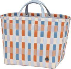 Blauwe Handed By Dames Shopper Multitone Oranje