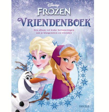 Afbeelding van Paarse Deltas Disney Violetta - Frozen vriendenboek