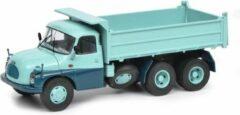Turquoise Tatra T138 Dump Truck - 1:43 - Schuco