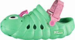 Xq Gardenwear Tuinklompen Rups Junior Rubber Groen Maat 22-24