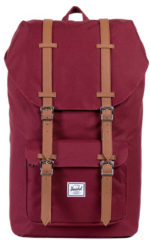 Rode Herschel Supply Co. Little America Rugzak windsor wine/tan