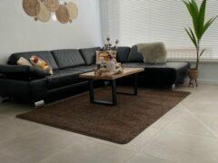 EB Commerce Vloerkleed Laagpolig - Bruin 170x240