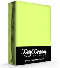 Groene Day Dream Jersey Hoeslaken Lime-190 x 220 cm
