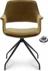 Happy Hair Happy Chairs – Armstoel Paulo – Velvet Goud