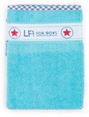 Blauwe Lief! Lifestyle Washandje - Licht Blauw - 16 x 21
