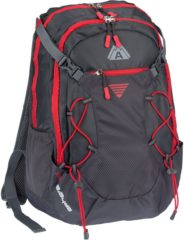 Donkergrijze Abbey Outdoor Rugzak - Sphere 35L - Antraciet/Donkergrijs/Rood