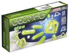 Groene Selecta Spel en Hobby Geomag Panels Glow 22 delig