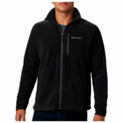 Zwarte Columbia Fast Trek Ii Full Zip Fleece Outdoorvest Heren - Black - Maat L