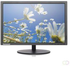 "Lenovo ThinkVision T2054P 19.5"" HD IPS Zwart computer monitor"