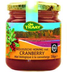Honing met cranberry De Traay - Pot 250 gram - Biologisch
