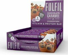 Fulfil Nutrition Fulfil Protein bars - 15x55g - Chocolate Caramel & cookie dough