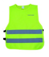 Gele Tunturi Veiligheidsvest - Safety Vest - Veiligheidshesje - Hardloop veiligheidsvest - Reflecterend - M